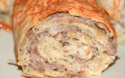 Подруга армянка научила меня готовить вкусную, быструю и сытную закуску из лаваша